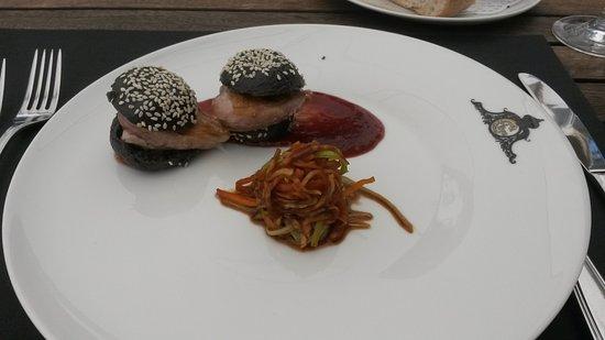 Restaurant C Five: Sieht nicht nur ungewöhnlich aus, schmeckt auch so