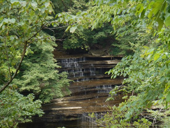 Clifty Falls State Park: One of the falls I was lucky to see.