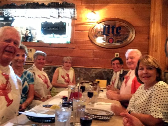 Ocklawaha, FL: Friends celebrating Elaine's birthday!