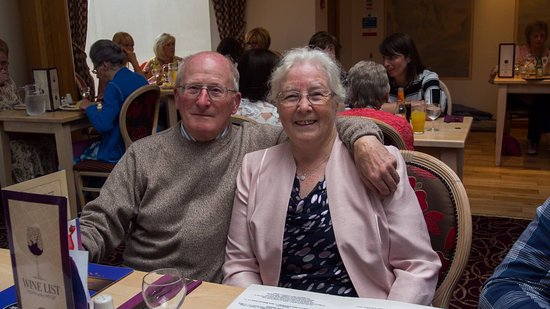 Banbridge, UK: The Golden Wedding couple!