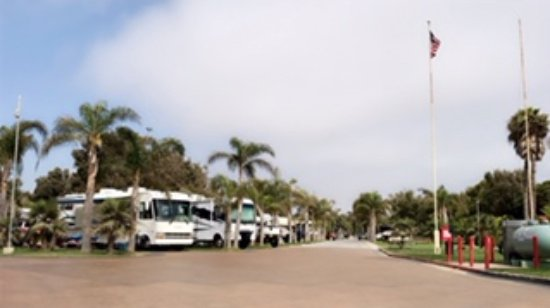 Ventura Beach Rv Resort Pull Through Sites
