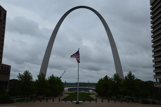 leider hatten wir schlechtes wetter picture of gateway arch saint louis tripadvisor. Black Bedroom Furniture Sets. Home Design Ideas