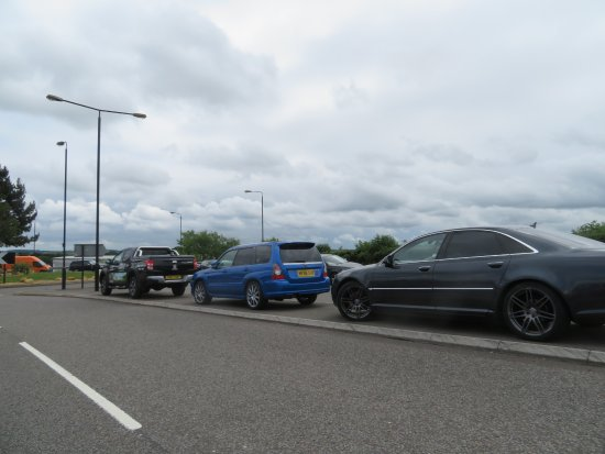South Normanton, UK: Overflow Parking.