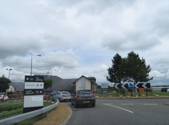 South Normanton, UK : Entrance
