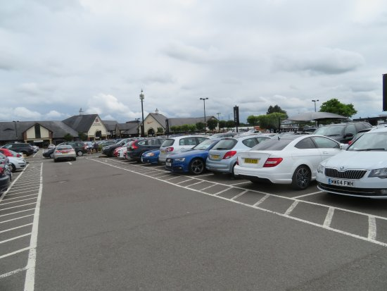 South Normanton, UK: ANd even more parking.