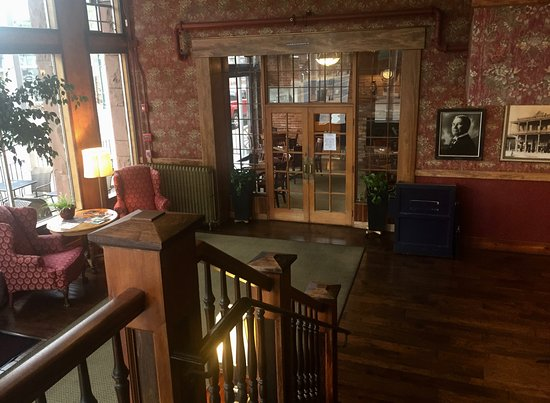 Weatherford Hotel: The lobby includes a photo of John Weatherford, who opened this hotel in 1900..