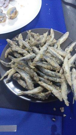 Llers, Spanien: pescaito frito