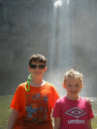 Trumansburg, Nowy Jork: The falls makes for a great photo op!