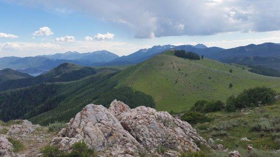 Deer Valley Resort: Great views from the top