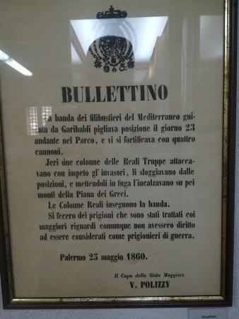 Castelbuono, Italie : Museo Garibaldino e i Viaggi