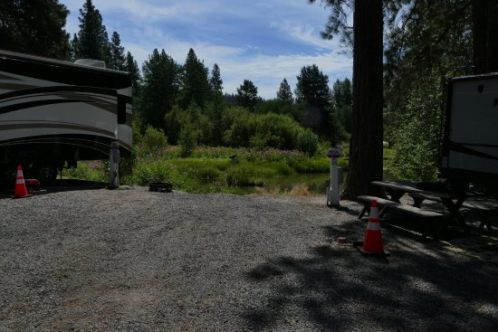 Fort Klamath, OR: RV Site (empty) 15