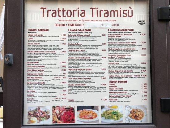 Tiramisu Trattoria
