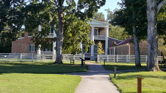 Andrew Jackson's Hermitage : At the Hermitage on July 30, 2017