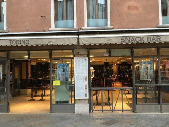 bar torino : Outside the cafe