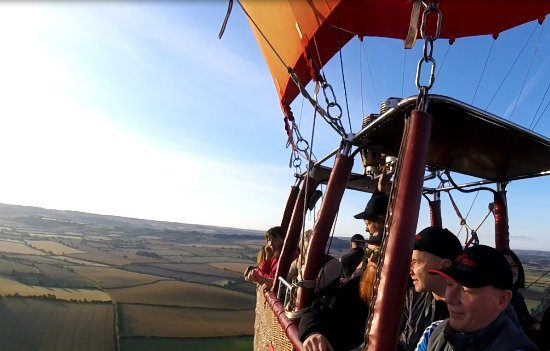 Shipston on Stour, UK: Virgin Balloon Flights - Shipston-on-Stour