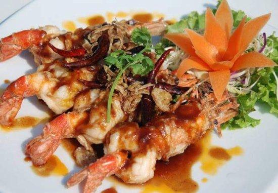 Lipa Noi, Thailand: Grilled quid
