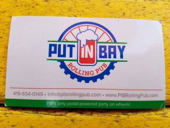 Put-In-Bay Rolling Pub