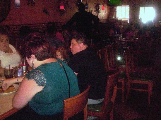 La Parrilla Mexican Restaurant : Customers Enjoying the Good Food