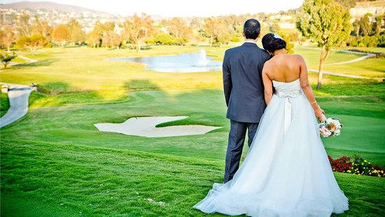 Omni La Costa Resort & Spa: Wedding Pictures on the Greens