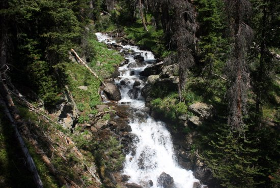 Rocky Mountain National Park, CO: Rushing Stream