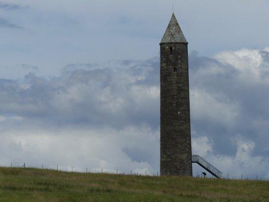 Irvinestown, UK: The round tower