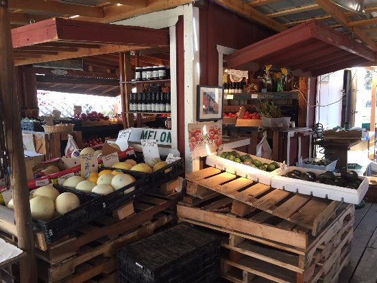 Richards Farmstand: Jams and salsa and eggs too.