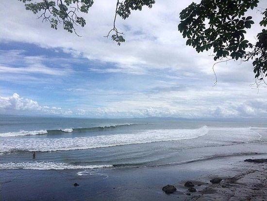 Pavones, Costa Rica: Esquerda mágica.