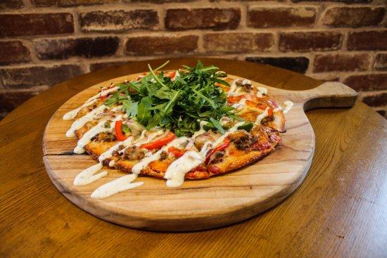 Nerang, أستراليا: Moroccan Lamb Pizza  