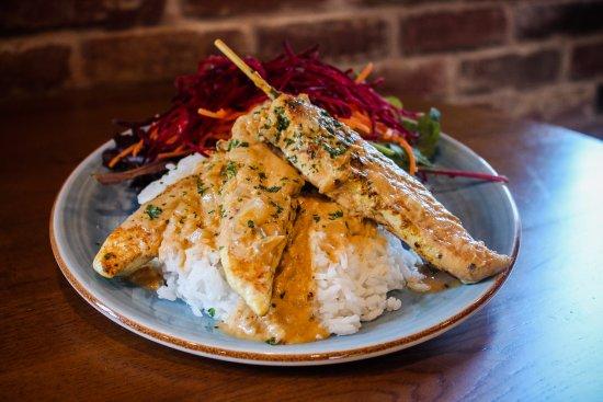 Nerang, Australia: Satay Chicken Skewers