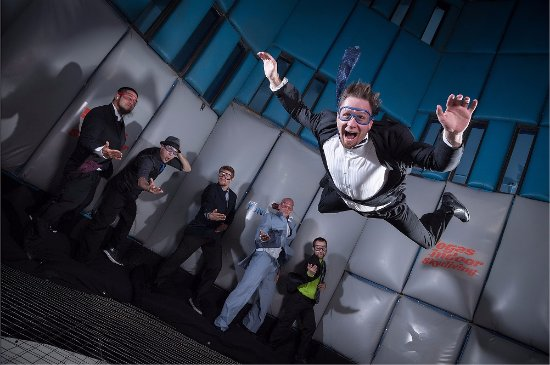 Vegas Indoor Skydiving : Bachelor party or Team Building? We do it all!