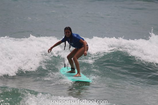Playa Negra, Costa Rica: Surfeando :)
