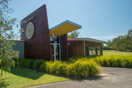 Dixons Creek, Australia: Mandala Wines entrance