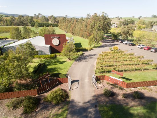 Dixons Creek, Australia: Mandala Wines aerial view