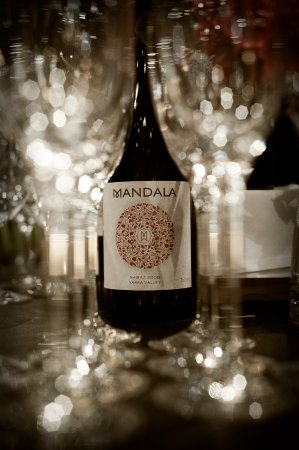 Диксонс-Крик, Австралия: Mandala Wines glasses shot