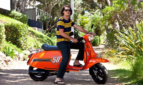 Waiheke-øya, New Zealand: Island Scoot offers Scomadi Turismo Leggara