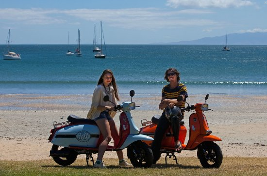 Oneroa, New Zealand: Explore Waiheke Island by Scooter!