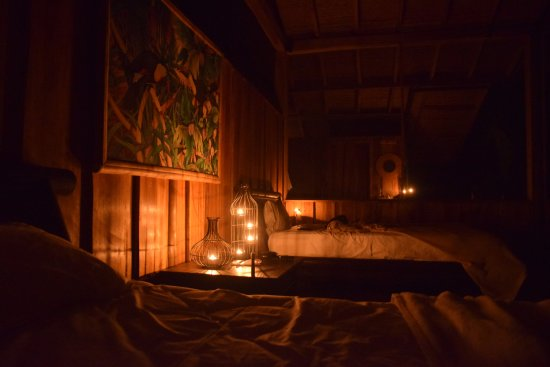 Candles In The Room At Night Picture Of Pacuare Outdoor Center Turrialba Tripadvisor