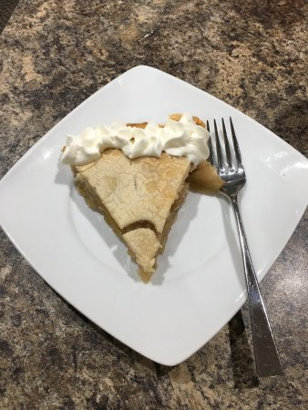 Three Hills, Canada: Apple pie