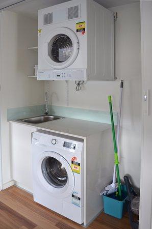 Bellerive, Australië: Full laundry in each apartment