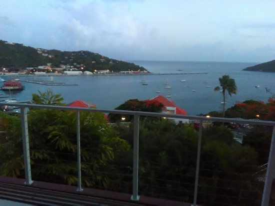 Banana Tree Grille: The view from our table