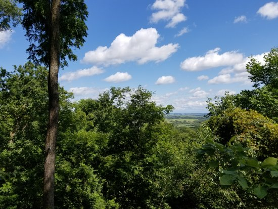 Elizabeth, إلينوي: Long Hollow Canopy Tours