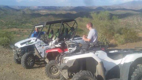 Arizona Outdoor Fun: Water break on the 3 hour tour