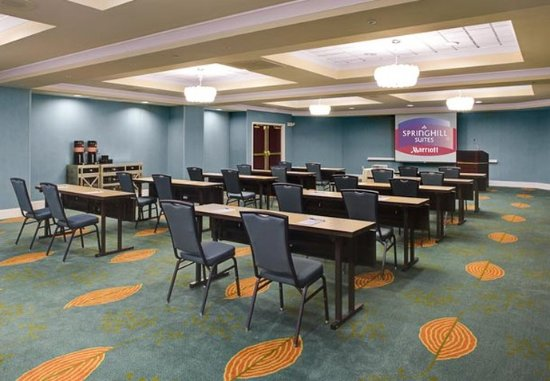 SpringHill Suites Memphis Downtown: Trolley Room – Classroom Style