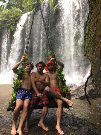 Siem Reap Taxi Service: Waterfall