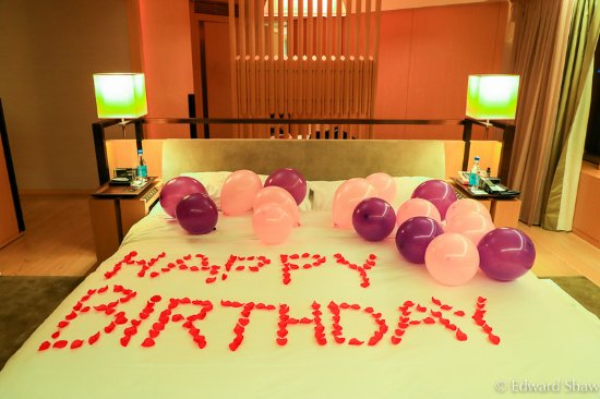 The Upper House: Birthday decoration
