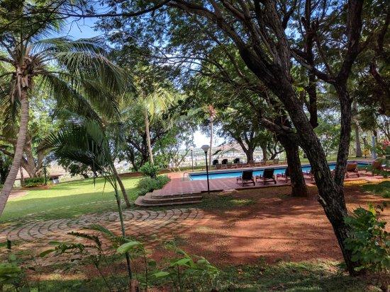 The Gateway Hotel Pasumalai Madurai : Beautiful pool area!