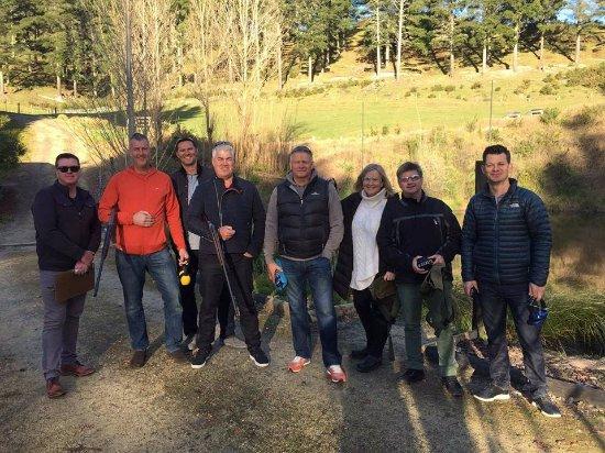 Havelock North, Nueva Zelanda: The crew