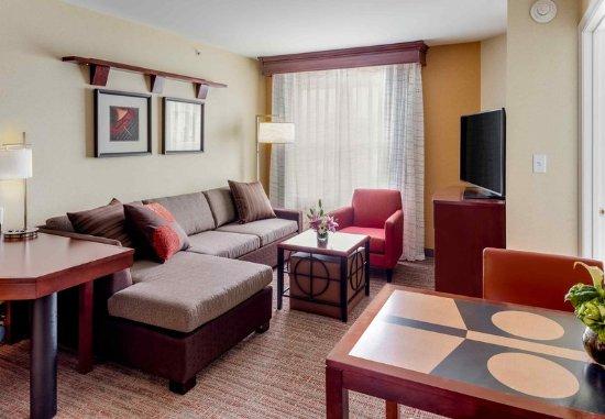 Auburn, ME: One-Bedroom Suite - Living Area