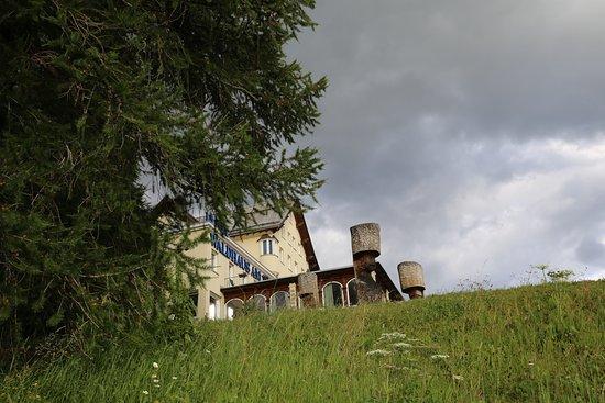Restaurant Waldhaus am See : Beste Aussicht auf den See