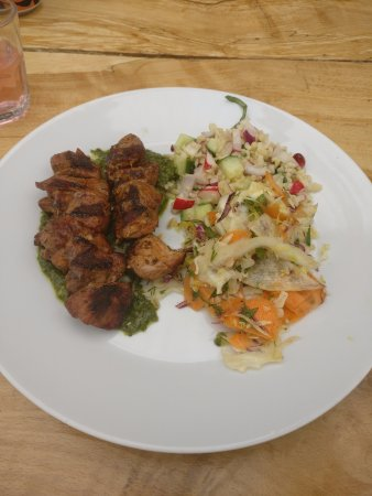 Nympsfield, UK: Lamb Skewer